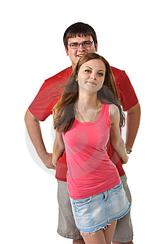Happy Young Couple Stock Photos - Image: 15304513