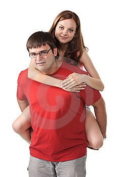 Happy Young Couple Stock Photos - Image: 15304533