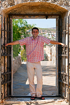 Man In A Doorway Stock Photos - Image: 15304663