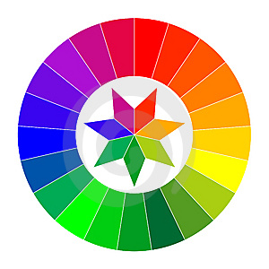 Color Wheel Illustration Stock Images - Image: 15306214