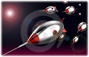 Missile Attack Royalty Free Stock Images - Image: 15306439