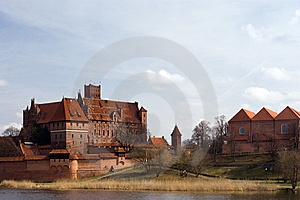 Castle Of The Teutonic Knights Malbork - Poland Royalty Free Stock Photo - Image: 15307545