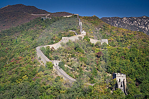 Great Wall Royalty Free Stock Image - Image: 15309916
