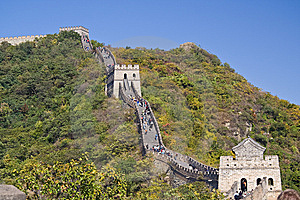 The Great Wall Stock Photography - Image: 15309922