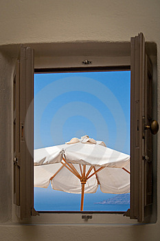 Sea View Window Stock Photos - Image: 15310153