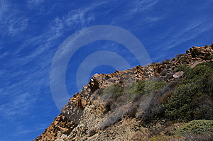 Ridge-line Againts The Sky Stock Photography - Image: 15311122