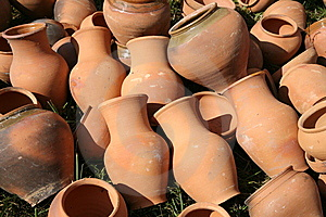 Clay Pots Stock Images - Image: 15311334