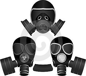 Gas Masks Royalty Free Stock Photo - Image: 15311455