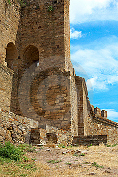Genoese Fortress Royalty Free Stock Photos - Image: 15311718