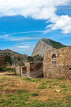 Genoese Fortress Royalty Free Stock Images - Image: 15311719