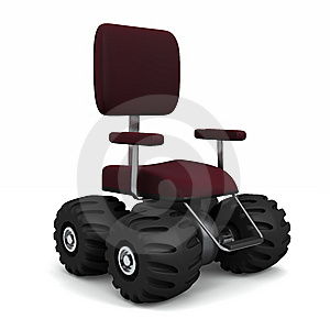 Big Office Chair Stock Images - Image: 15311934
