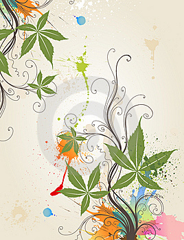 Floral Floral Background Stock Photo - Image: 15312170