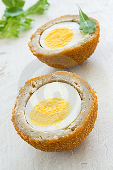 Scotch Eggs Royalty Free Stock Photography - Image: 15313277