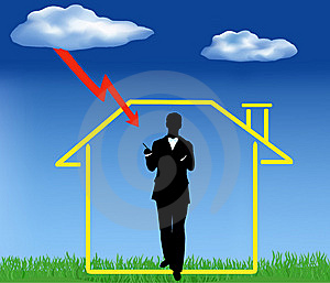 Insurance Of Real Estate Stock Image - Image: 15313601