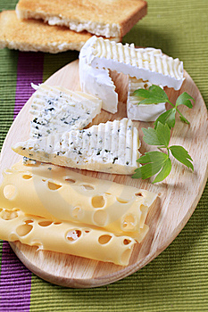 Variety Of Cheeses Stock Photo - Image: 15314030