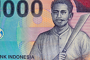 Vinatge Indonesian Currency Royalty Free Stock Images - Image: 15314569