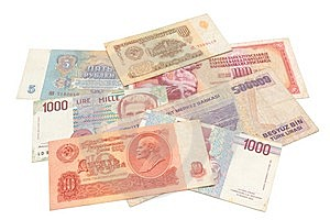 Obsolete Money Isolated Stock Image - Image: 15317141