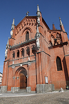 Pollenzo Church Stock Images - Image: 15317214