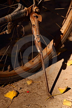 Old Rusty Bike Stock Images - Image: 15317664