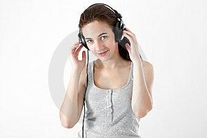 Teen Listening Music Stock Photos - Image: 15319703