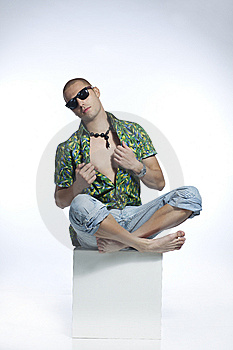 Cool Beach Boy Stock Photo - Image: 15320070