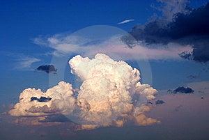 Unusual White Cloud Stock Image - Image: 15320671