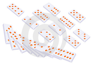 Domino Stock Photography - Image: 15327222