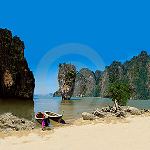 Exotic Holiday Destination Royalty Free Stock Photo - Image: 15328555
