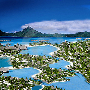 Exotic Holiday Destination Royalty Free Stock Photos - Image: 15329248