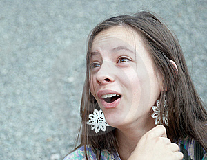 Surprised Girl Stock Photography - Image: 15330642