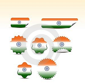 Indian Flags Stock Photos - Image: 15333533