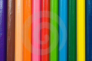 Colorful Of Color Pencils Stock Image - Image: 15333681