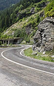 Transfagarasan Road Stock Image - Image: 15334351