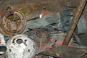 Rusty Metal And Iron Stock Photo - Image: 15334960
