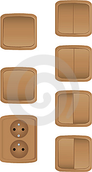 Socket And Switches Royalty Free Stock Photos - Image: 15335168