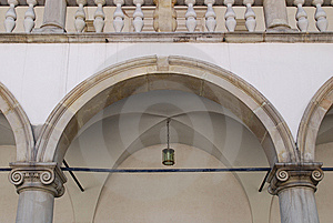 Renaissance Arcades. Wawel Royal Castle In Cracow Stock Photos - Image: 15336393