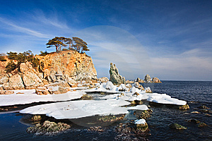 Winter Seascape Royalty Free Stock Images - Image: 15337579