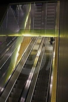 Escalator Royalty Free Stock Image - Image: 15338076