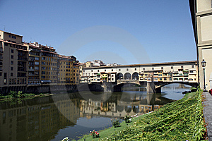 Ponte Vechio In Florence Stock Photo - Image: 15341310