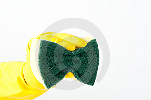 Cleaning Sponge Stock Image - Image: 15342361