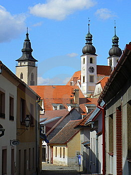 Historic Town Of Telc Stock Photography - Image: 15343892