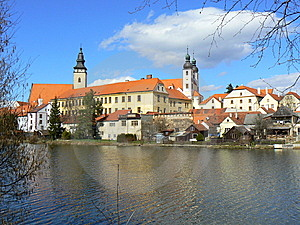 UNESCO Town Of Telc Stock Photography - Image: 15343912