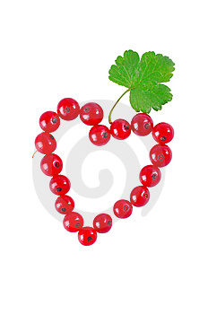 Heart Of Red Currant Royalty Free Stock Photo - Image: 15345875