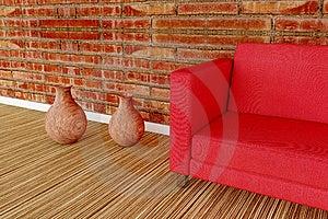 Detail Illustration Of A Sofa Stock Photo - Image: 15346220