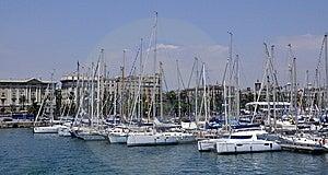 Barcelona, Olimpic Port Royalty Free Stock Images - Image: 15346329