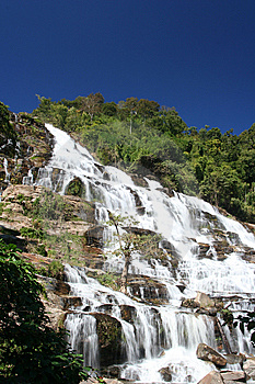 Waterfall In Nation Park Royalty Free Stock Images - Image: 15347259