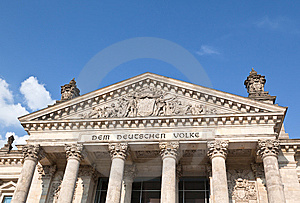 Reichstag Building In Berlin Stock Photo - Image: 15348950