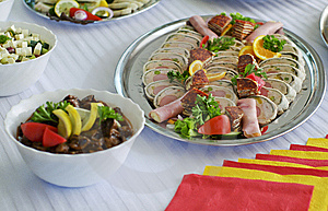 Delicious Platters Stock Photos - Image: 15350753