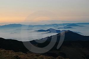 Beautiful Mountain View, Romania Royalty Free Stock Photos - Image: 15351998