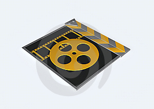 Film Clapper Stock Photography - Image: 15354052